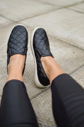 Слипоны — обувь для города, а не для бега