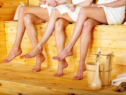 Что происходит с венами в бане