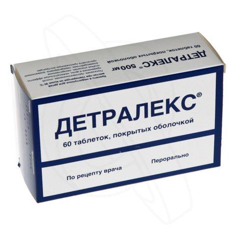 Детралекс - эффективное венотоническое средство