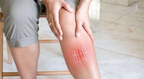 Самомассаж снимает воспаление и боль в ногах