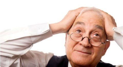 Атеросклероз сосудов мозга ощущается головными болями и ухудшением памяти