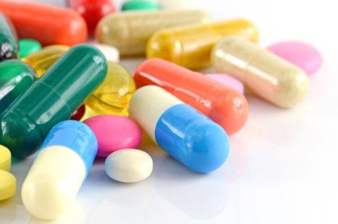 Большой выбор таблеток