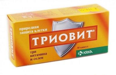 Триовит - антиоксидантный препарат