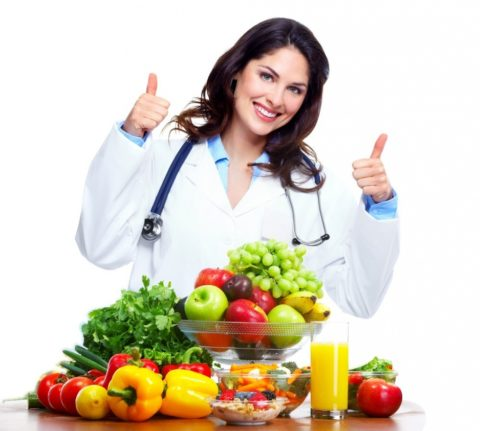 Перед тем, как составить меню, следует посоветоваться с диетологом.
