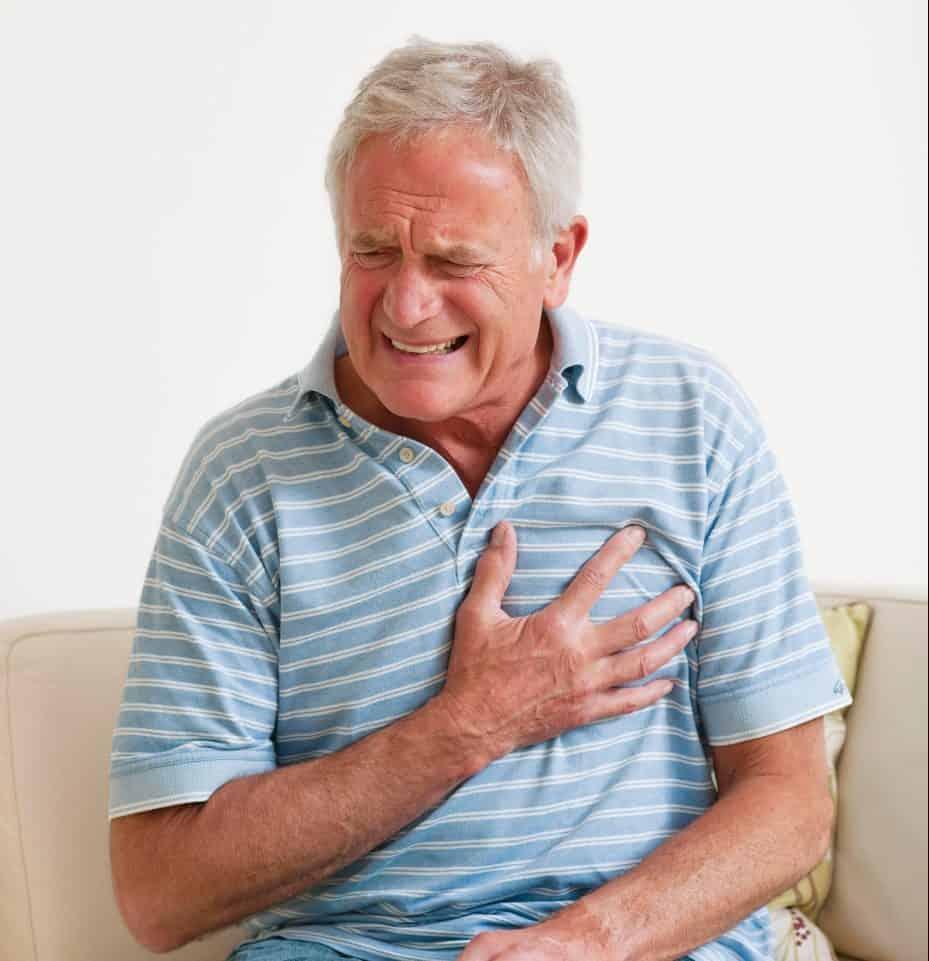 Первая помощь при болях в сердце