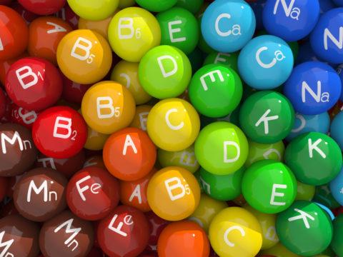 Фото витаминов и минералов