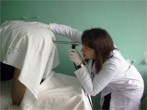 Использование оптического прибора для диагностики