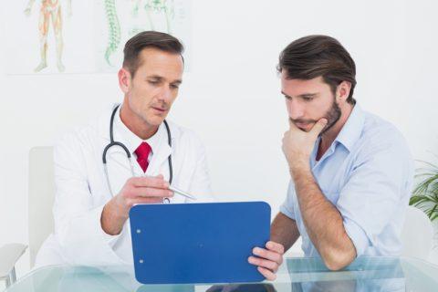 Даже на ранних стадиях патологии врач назначит лечение