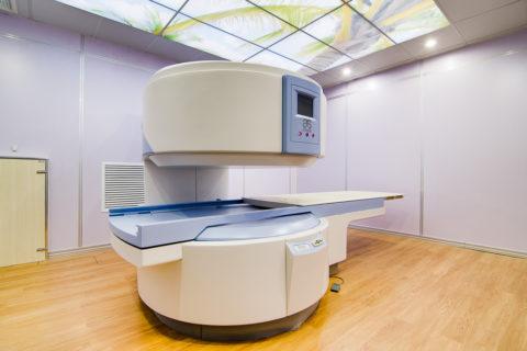 Современный вид аппарата - открытый МРТ