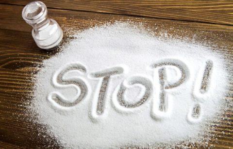 """Стоит сказать соли """"стоп"""""""
