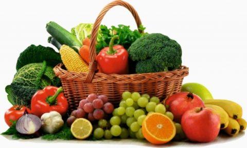 Для повышения эффективности чистки следует употреблять свежие фрукты и овощи.