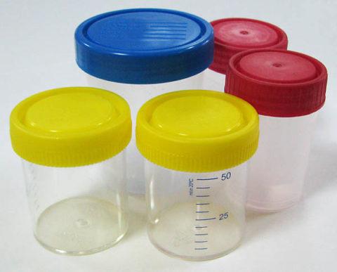 Емкости для сдачи спермы