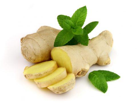 Корень имбиря – эффективный компонент в борьбе с холестериновыми отложениями.