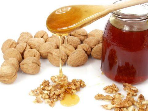 Мед и грецкие орехи – лучшие средства для чистки сосудов