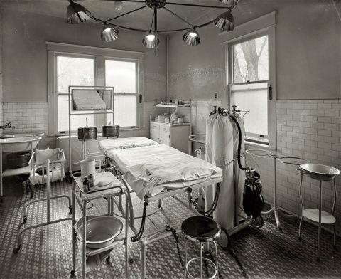 Операционная конца 19 начала 20 века