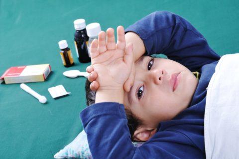 При синдроме ВСД малыш много спит или страдает бессонницей