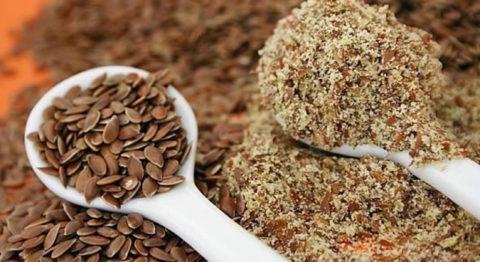Семена льна помогут предупредить развитие заболеваний сердечно – сосудистой системы.
