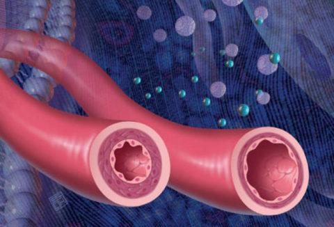Спазм и резкое сужение периферических сосудов – одно из негативных влияний никотина на организм