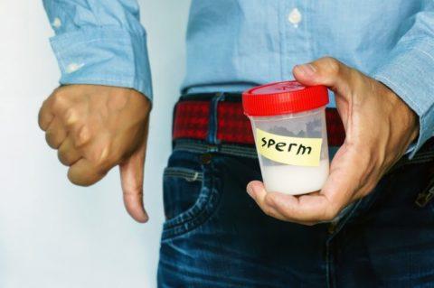 Болезнь ухудшает процесс образования сперматозоидов
