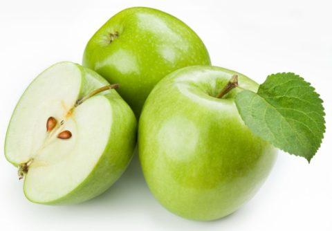 Для приготовления уксуса нужно применять кислые яблоки.