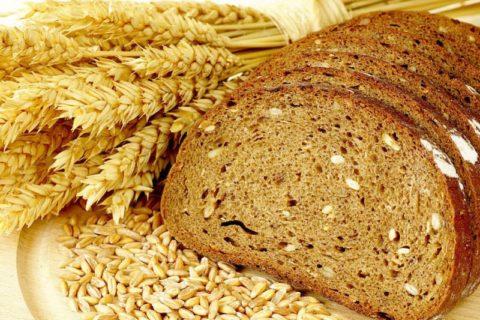 Хлеб из цельных злаков.