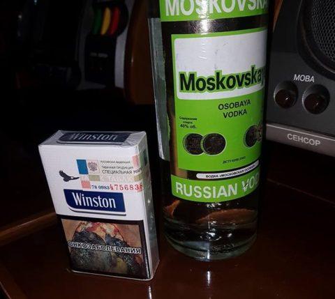 Курение усиливает действие спирта