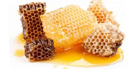 Мед пчелиный в сотах