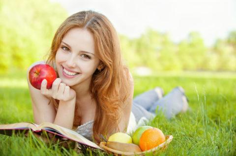 Несколько яблок в день как профилактика инсульта.