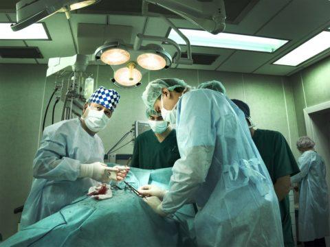 Процесс проведения операции.