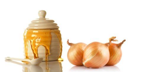 Сочетание лука и меда издревле используется в народной медицине для лечения многих недугов