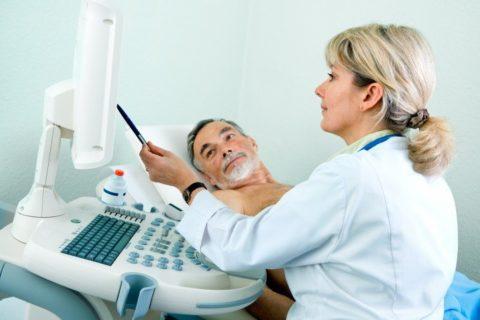 Узи позволяет определить и измерить рефлюкс крови в яичковой вене