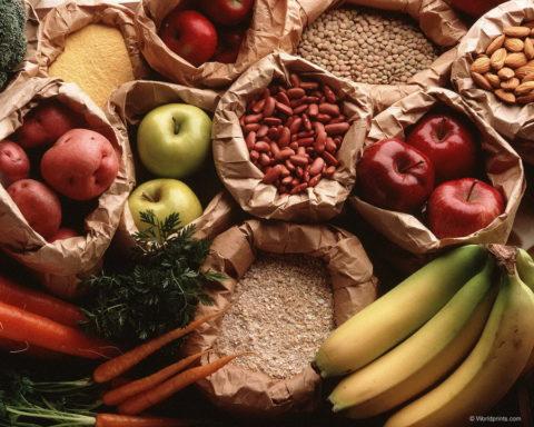 Пища растительного происхождения.