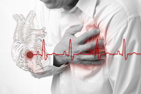 Загрудинная боль – основной симптом тревоги.