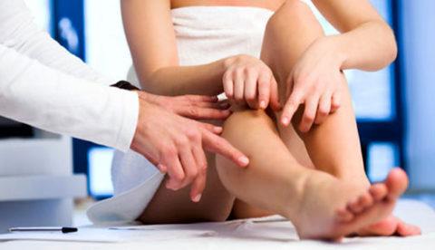 Лечение следует проводить под контролем врача флеболога.