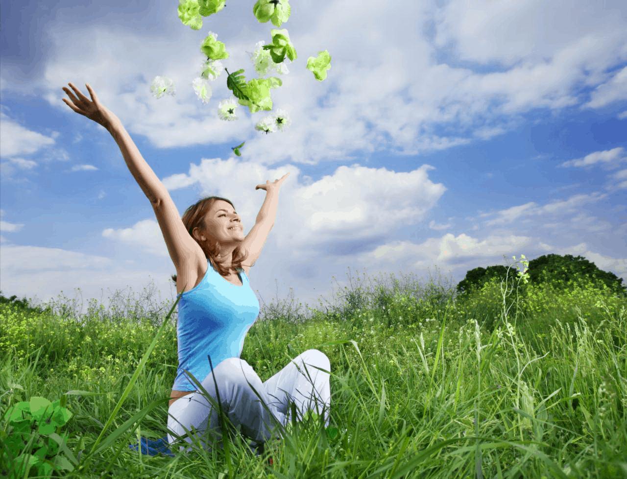 Похудеть при помощи закона притяжения