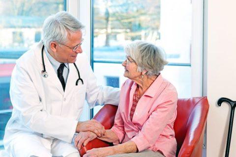 Расскажите врачу о жалобах, появившихся во время лечения