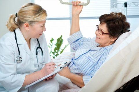 Врач должен знать о любых жалобах пациента, возникших после операции
