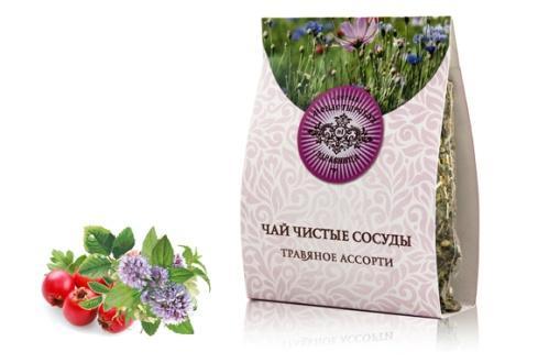 """Монастырский чай """"Чистые сосуды"""", цена 300 руб."""