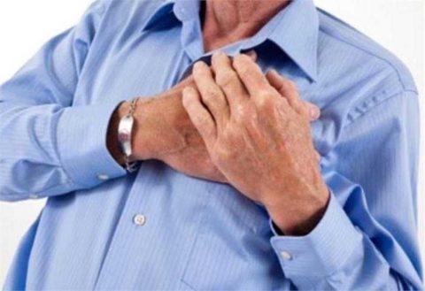 Боль в груди - вероятный признак кальциноза