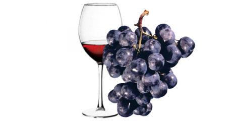 Кагор получают из темных сортов винограда