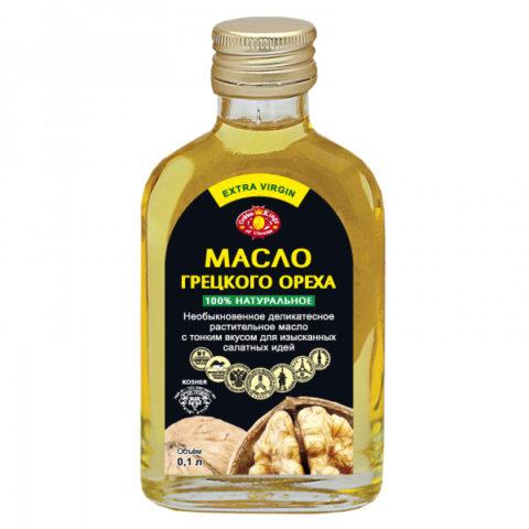 Масло грецкого ореха промышленного выпуска