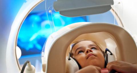МРТ головы и шеи у детей