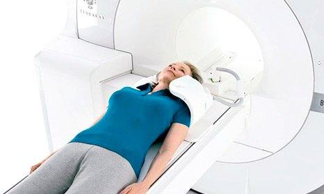 МРТ шеи в аппарате закрытого контура