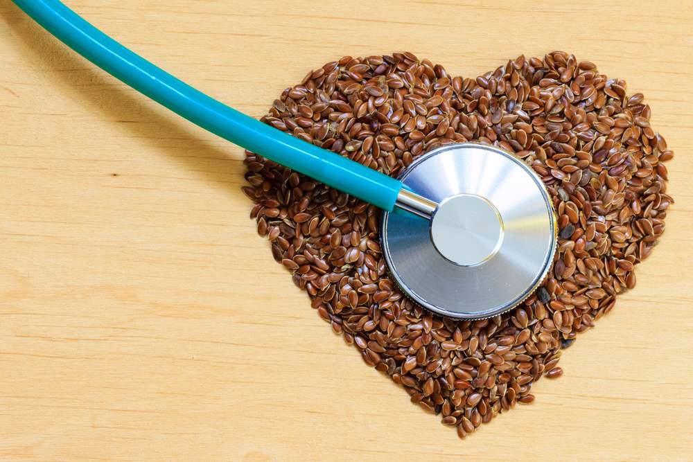 Семена льна для сердца