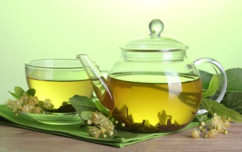Соцветия липы для чая