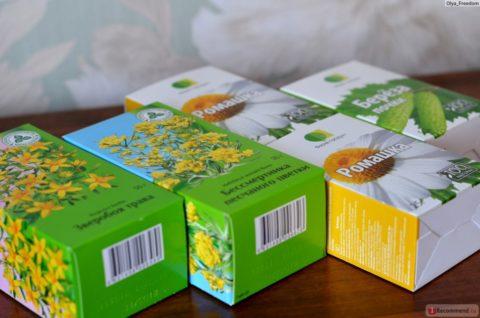 Травы из аптеки для составления сбора
