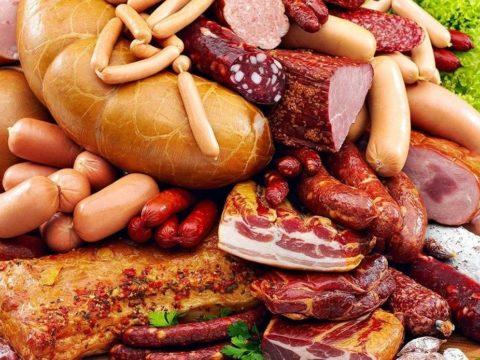 Колбаса, сосиски, полуфабрикаты