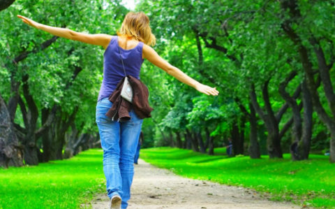 На пользу организму пойдут пешие прогулки.