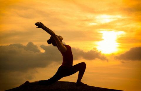 Йога для борьбы с гиперхолестеринемией.