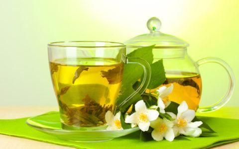 Зеленый чай с жасмином